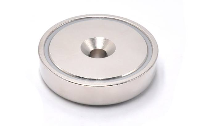 Countersunk Hole Pot Magnet of NdFeB