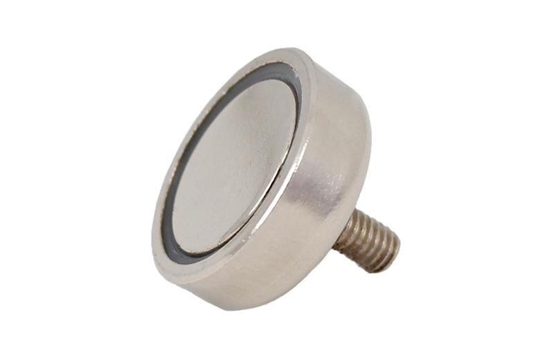 External Threaded Pot Magnet of NdFeB